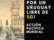 Concentración Stop 5G Uruguay el 24 de junio en Plaza Independencia!